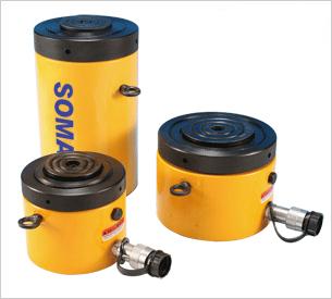薄型螺母锁定液压油缸