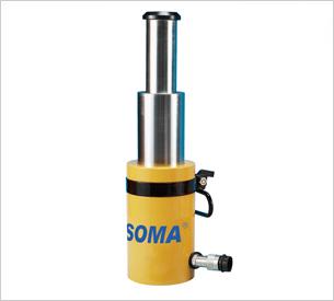 分体式多级液压油缸